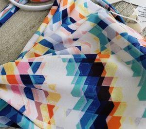 l*space Swim - BNWT L*Space Bikini Top Multi Color Medium